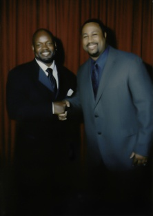 Chatting with Emmitt Smith